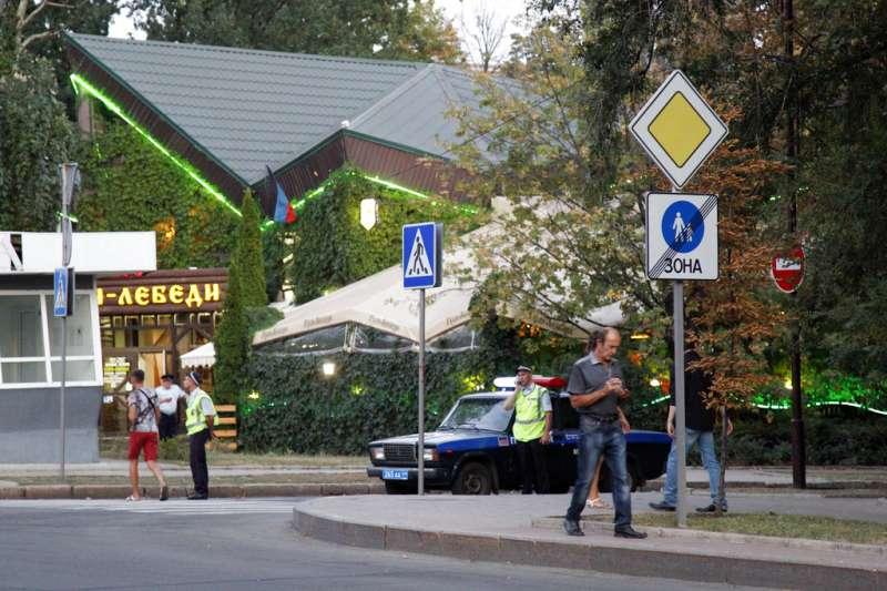 烏克蘭東部分離主義領袖札哈爾琴科(Alexander Zakharchenko)身亡(AP)