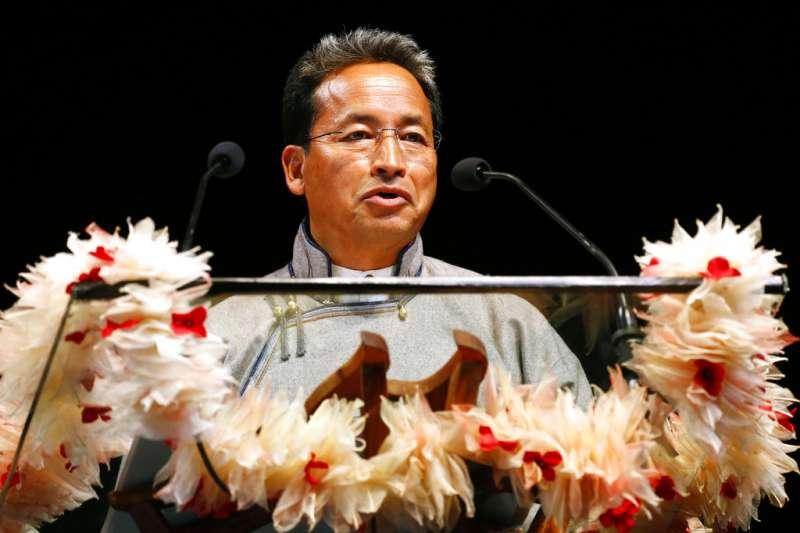 2018年麥格塞塞獎得主:來自印度的王曲克(Sonam Wangchuk)。(AP)