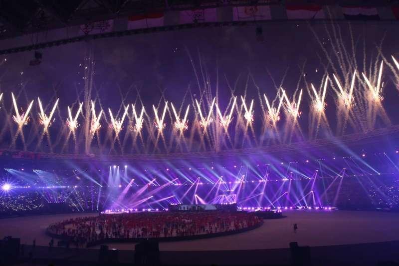 雅加達亞運昨舉行閉幕典禮,台灣選手陸續搭機返台。(體育署、中華奧會提供)