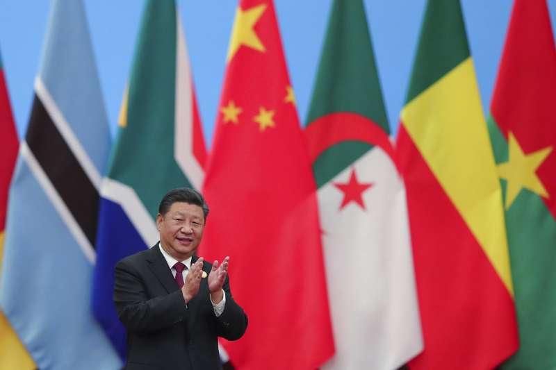 圖為中國國家主席習近平出席中非合作論壇。(AP)