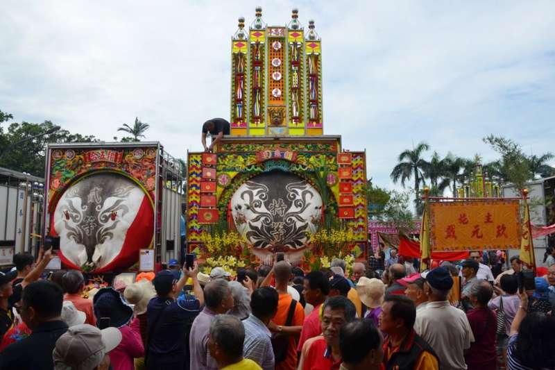 客家義民祭為國家民俗文化資產,賽神豬則為其傳統祭儀。(圖/新竹縣政府提供)