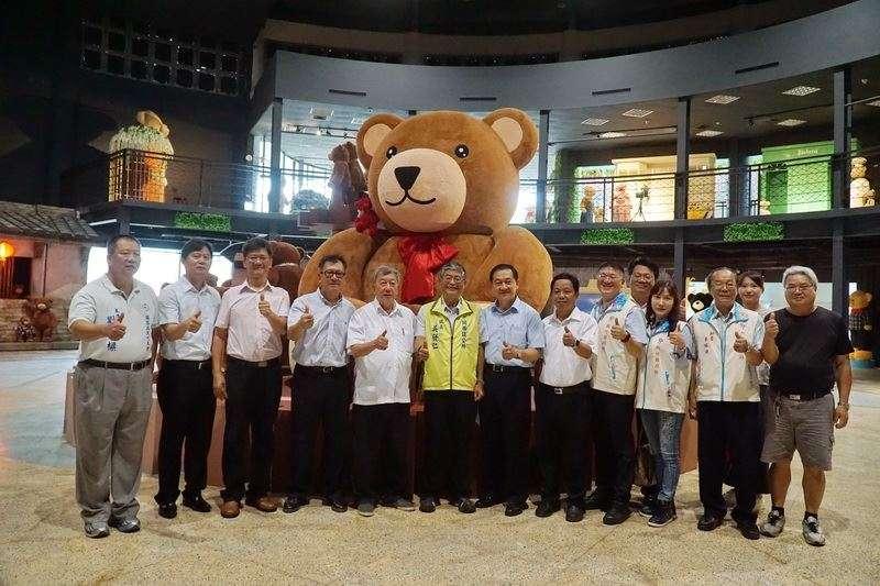 超大型「小熊博物館」將於新竹縣關西迎風館營運,預計可成竹縣觀光亮點。(圖/新竹縣政府提供)