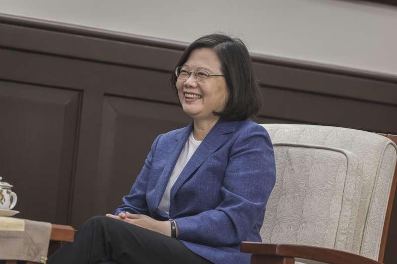總統蔡英文3日首次在歐洲議會發表錄影談話,強調中國正在破壞兩岸和平現狀,但台灣有韌性也有決心維護民主,呼籲理念相同的歐洲國家共同支持。(資料照,取自總統府Flickr)