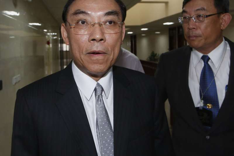 蔡清祥對簽准死刑令的前置作業包得密不透風。(郭晉瑋攝)