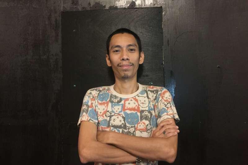 台北藝術節「島嶼酒吧」:緬甸藝術家摩.薩特(簡恒宇攝)