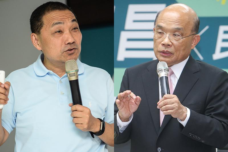 TVBS民調》侯友宜支持度50%,蘇貞昌30%,新北市長選舉差距拉大-風傳媒