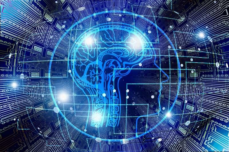 大腦、專利、智慧、科技。(圖/Pixabay)