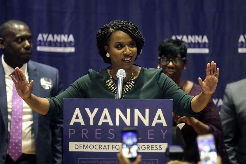 美國麻州波士頓市議員普瑞斯利贏得初選,將成為首位來自麻州的非裔女性聯邦眾議員(AP)