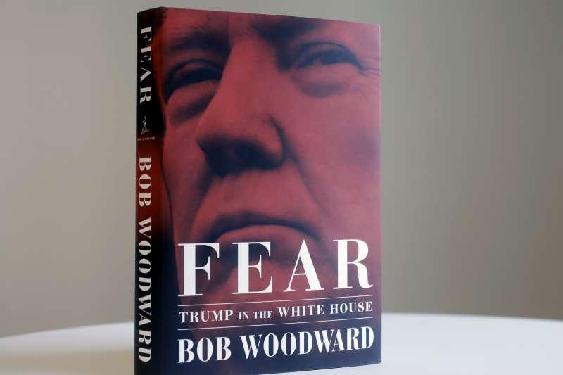 美國傳奇記者伍華德2018年的新書《恐懼:川普入主白宮》(AP)