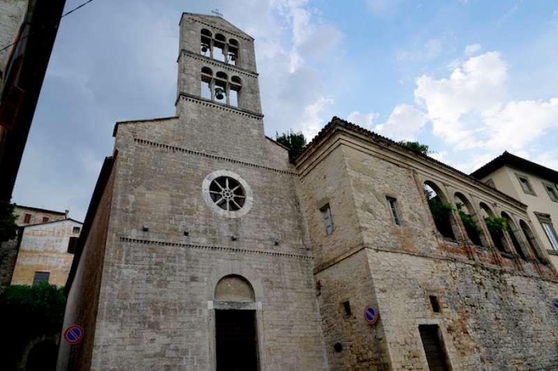 義大利教堂無處不在。(曾廣儀攝)