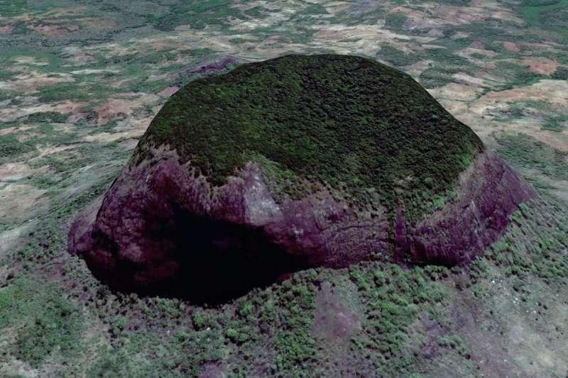 蝴蝶專家用Google Earth,發現了地球上最後一片未被人類破壞的「祕密花園」。(圖/愛范兒提供)