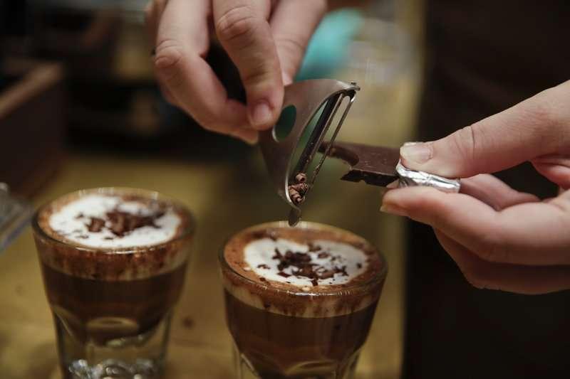 咖啡。(AP)