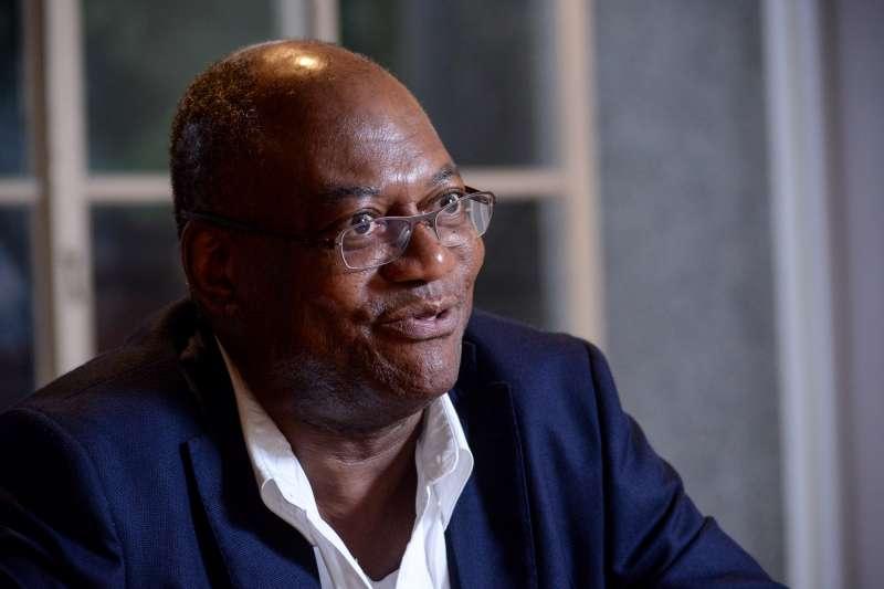 20180907-專訪非裔美國學者瑞凱德。(甘岱民攝)