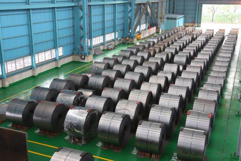 中鋼表示,8月因天候不佳遞延出貨的鋼胚產品,可望在9月認列營收,貢獻成長幅度預料將可觀(圖/中鋼提供)