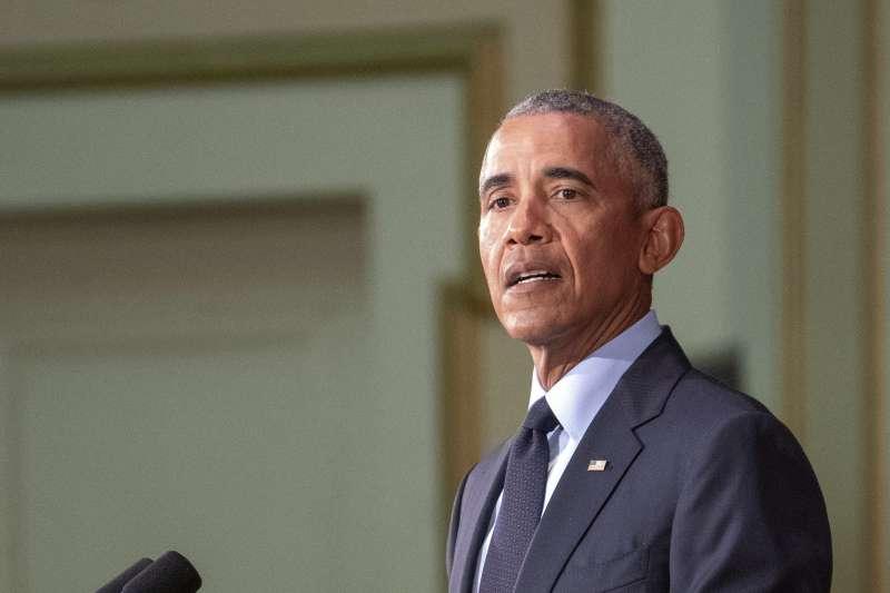 美國前總統歐巴馬(AP)