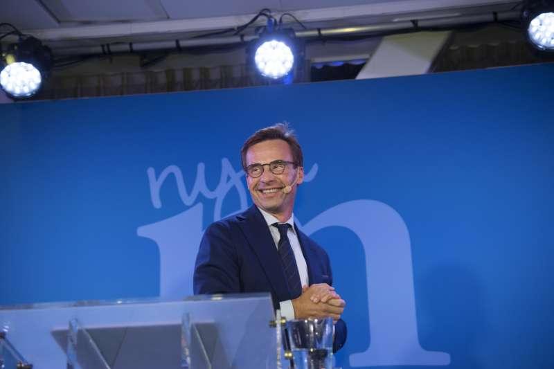 瑞典大選:右派聯盟推舉的總理人選克里斯特松(AP)