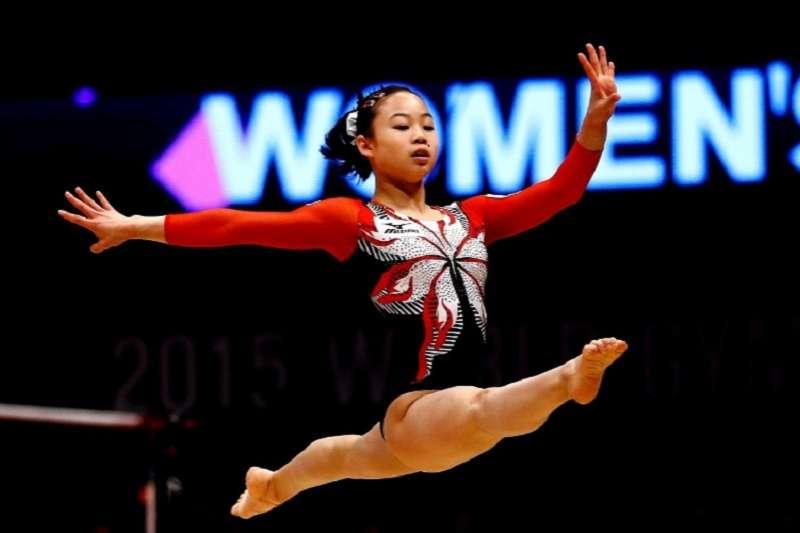 日本女子體操好手宮川紗江。(美聯社)