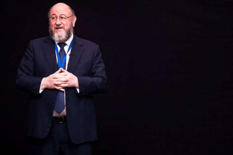 英國首席拉比馬維斯。(聯合猶太會堂官網)