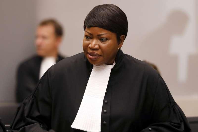 國際刑事法庭(ICC)總檢察長班索妲(AP)