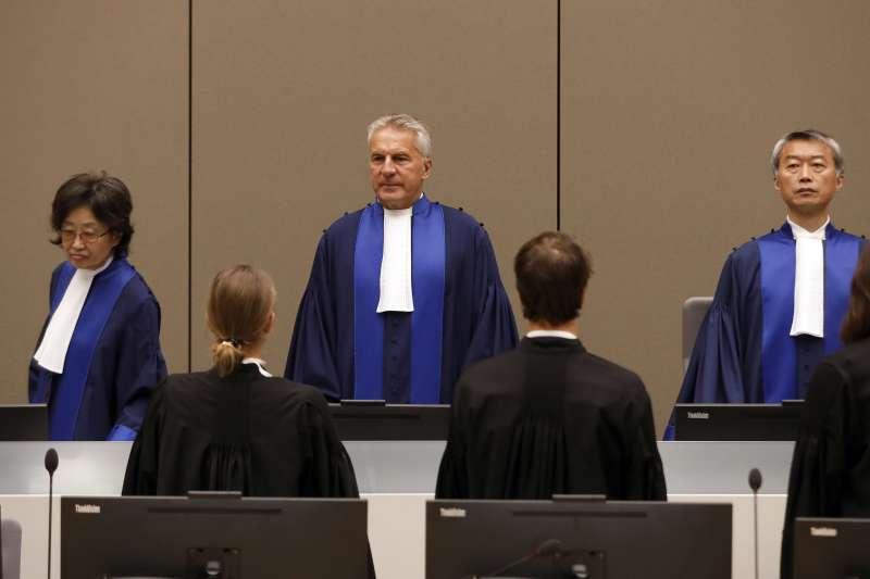 國際刑事法庭(ICC)法官(AP)