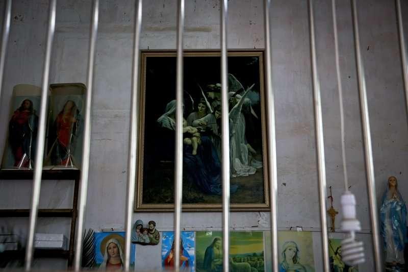 中國基督教徒屢遭政府打壓,圖為廣東省一處天主教堂。(AP)