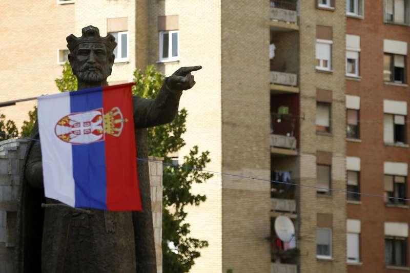 科索沃北部的塞爾維亞裔城鎮(AP)
