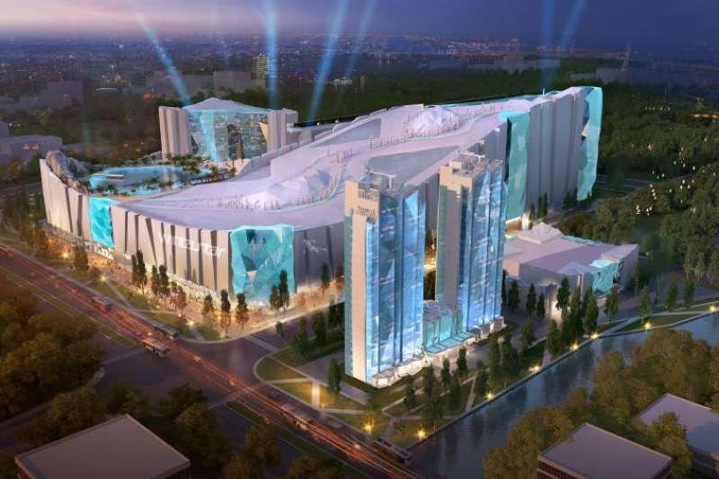 杜拜零售巨擘Majid Al Futtaim集團,將與亞洲地產開發商合作,在上海打造世上最大室內滑雪場。(Majid Al Futtaim網站)