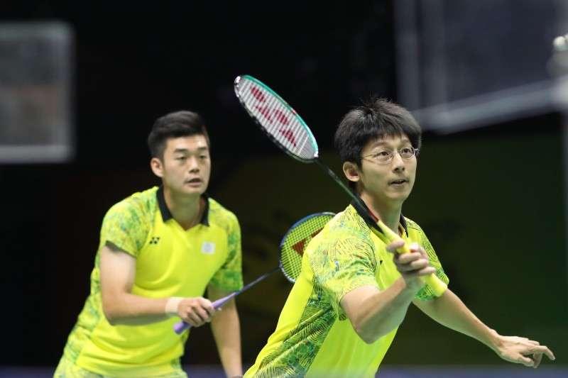 王齊麟/陳宏麟在日本公開賽首輪的賽事中,全場僅花26分鐘就以直落二輕鬆晉級。 (資料照,圖片取自世錦賽官網)
