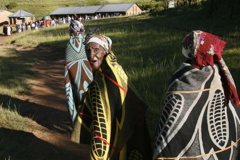 非洲南部國家賴索托法律規定,女兒無權繼任酋長(AP)