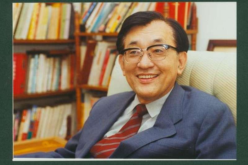 清華大學前校長沈君山。(資料照,取自國立清華大學)