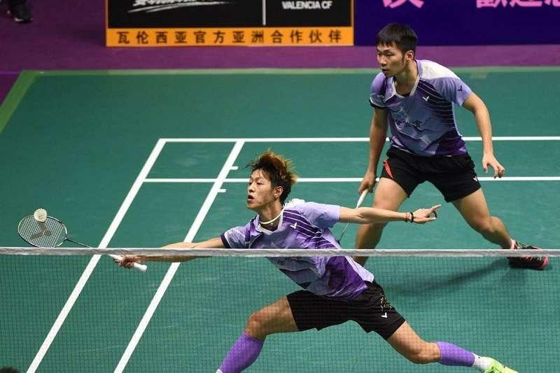 李洋/李哲輝在日本球公開賽首輪,以直落二拍落世界第6的丹麥組合。 (資料照,圖片取自傳羽運動網)