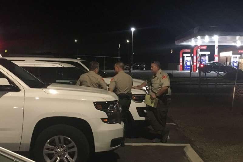 2018年9月12日,美國加州南部城市貝克斯非發生6死槍擊案(AP)