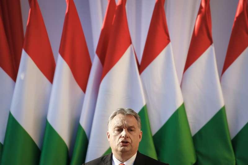 匈牙利民粹強人總理奧爾班(AP)