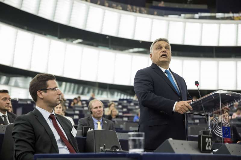匈牙利總理奧爾班抨擊歐洲議會動議(AP)