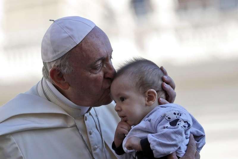 教宗方濟各9月12日在梵蒂岡聖彼得廣場(St. Peter