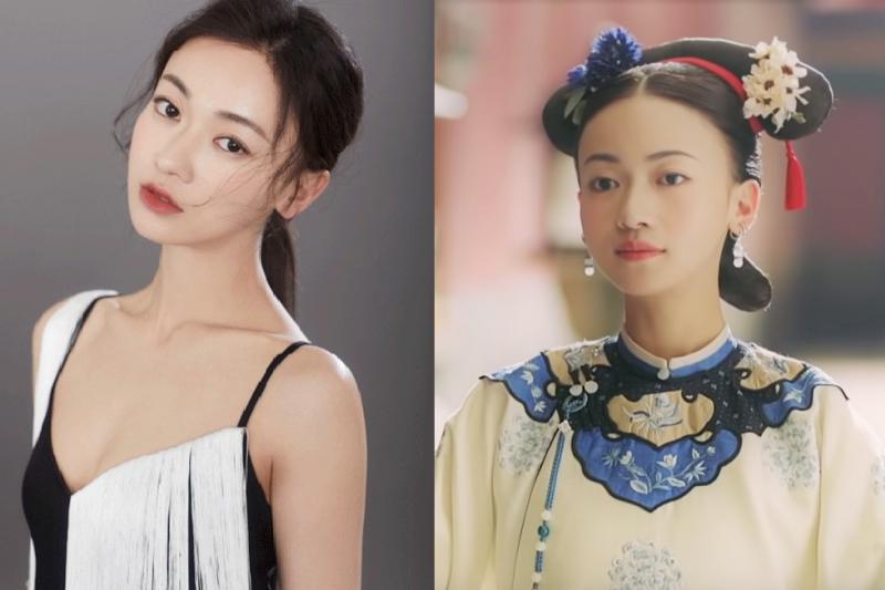 《延禧攻略》飾演魏瓔珞的27歲女主角吳謹言,為了亮相更清瘦楚楚可憐,採取「無痛減肥」狠甩7kg,營養師也稱讚。(圖/圖左華人健康網提供,圖右取自youtube)