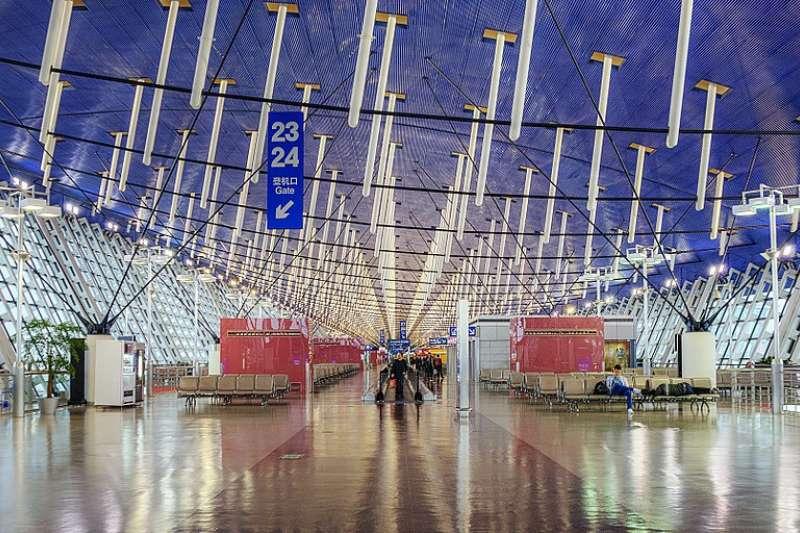 2018-09-13 上海浦東機場(取自維基百科CC BY2.0)