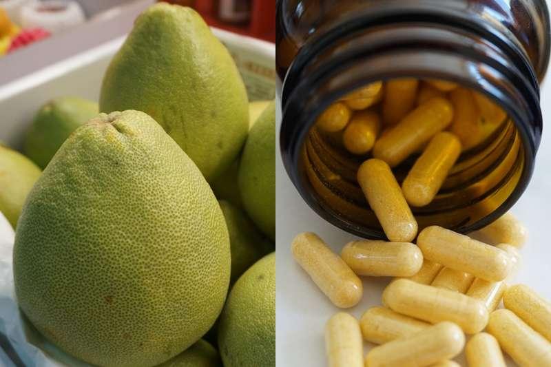 吃藥千萬不能配柚子?(圖/風傳媒合成)