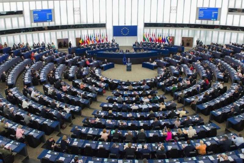 中美貿易戰正熾,歐洲議會近來對台灣態度似轉為積極。(翻攝自歐洲議會推特)