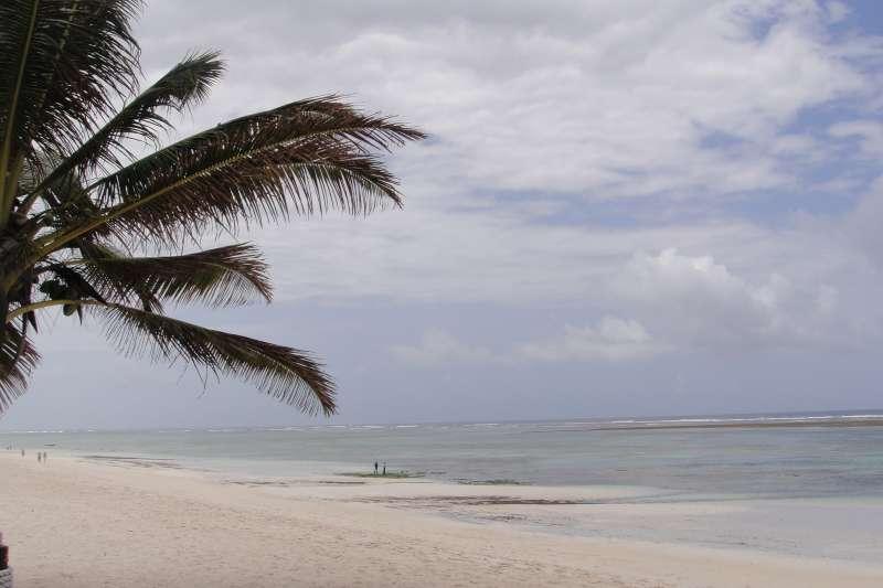 趁著假日,到南岸(South Coast)白色沙灘,體會傳說中像麵粉一樣又白又細的沙。(圖/謝幸吟提供)