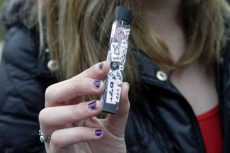 美國青少年盛行吸電子煙,Juul是最受歡迎品牌(AP)*吸菸有害健康