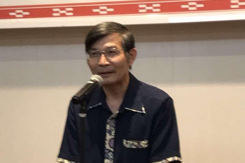 一名網友在PTT指出,駐大阪辦事處長蘇啟誠有著一顆古道熱腸的心。(取自外交部網站)