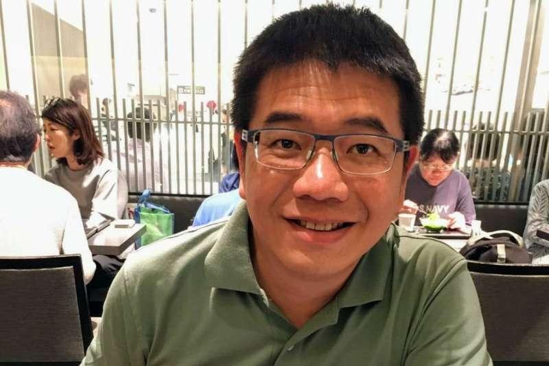 研究員蕭吉男14日辭去促進轉型正義委員會工作。(取自蕭吉男臉書)