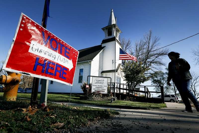 美國今年的期中選舉將在11月6日舉行(AP)