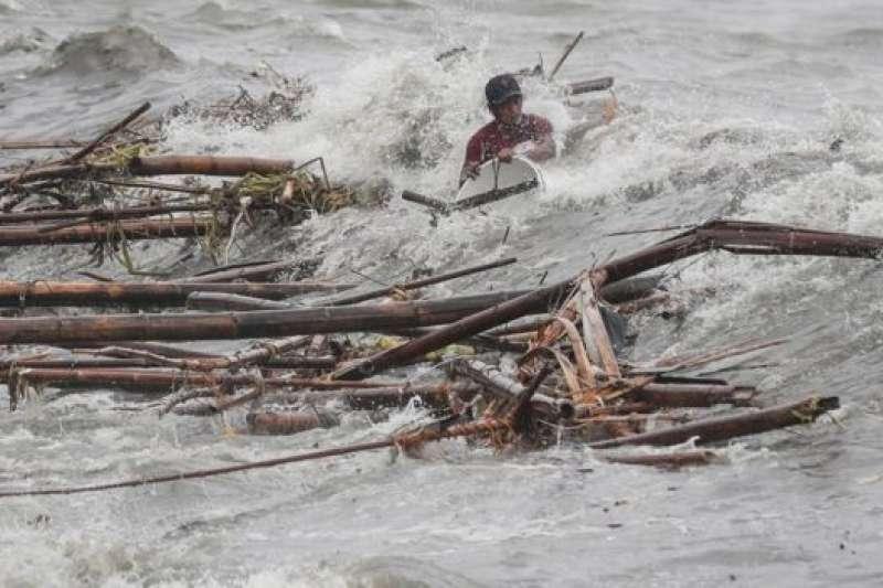 「山竹」是今年襲擊菲律賓的最強颱風。(BBC中文網)