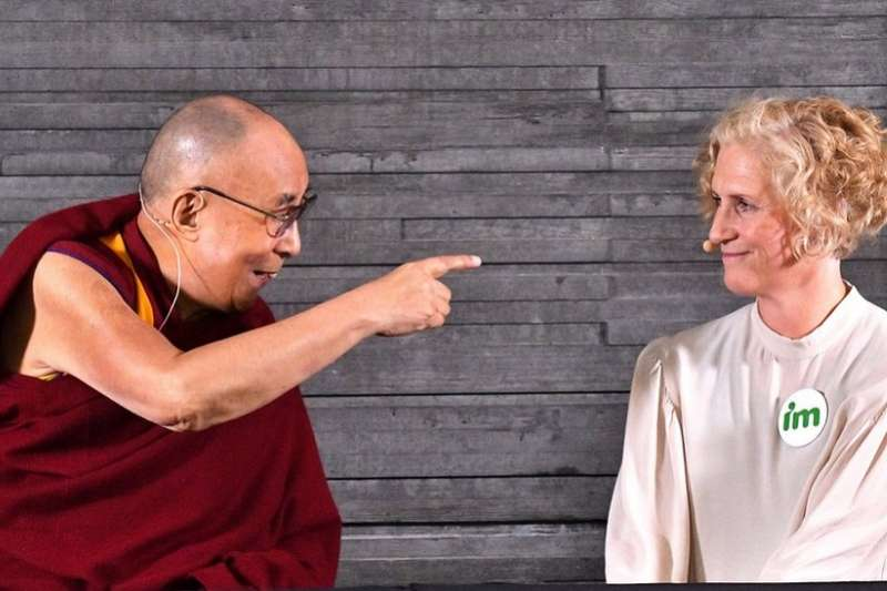 達賴喇嘛。(BBC中文網)