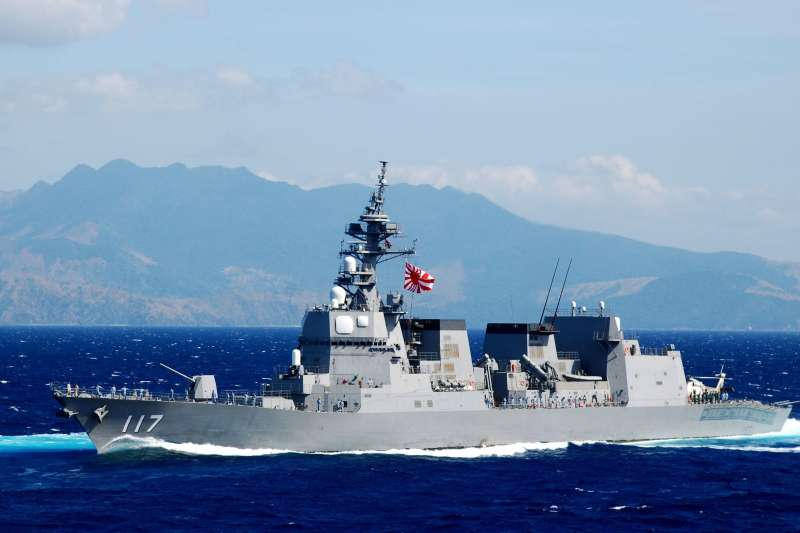 涼月號護衛艦。(日本海上自衛隊)