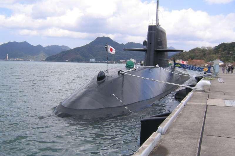 日本海上自衛隊潛艦黑潮號。(維基百科/公用領域)