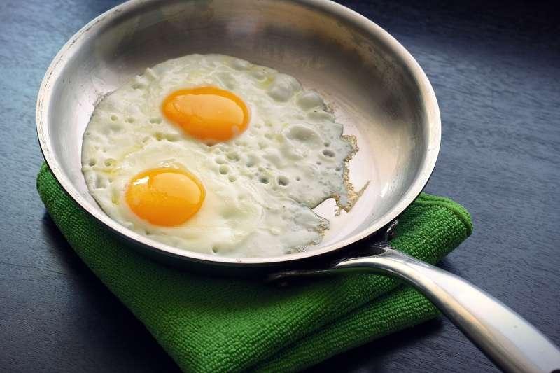 吃太多蛋黃,真的會影響健康嗎?(圖/pixabay)