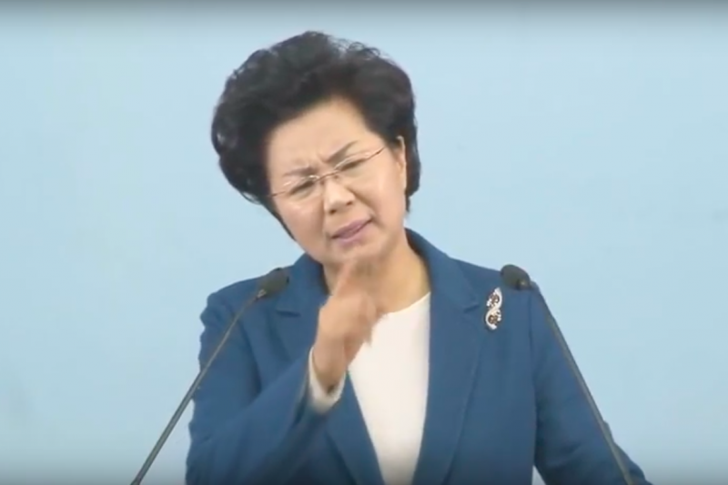 韓國牧師申玉珠。(擷取自「教會恩典(은혜로교회)」YouTube頻道)